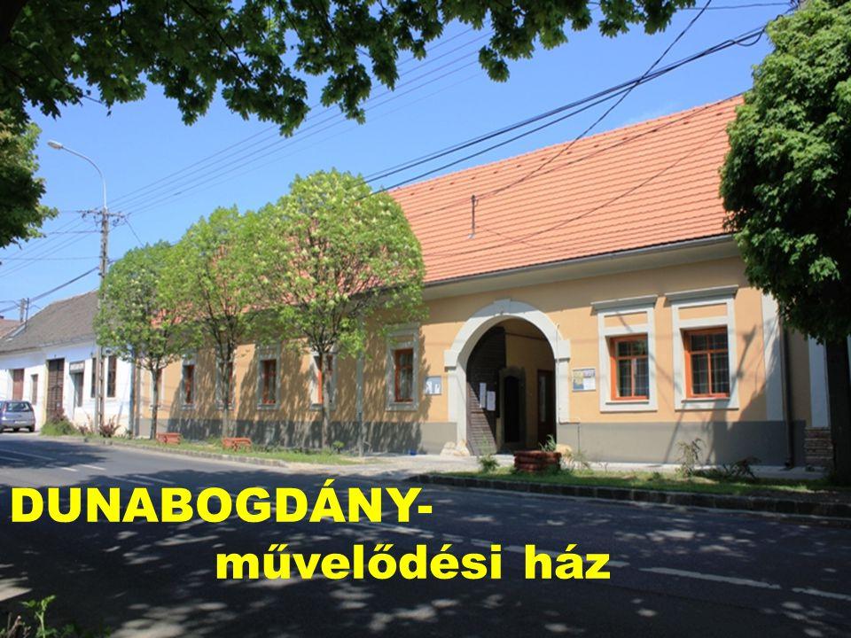DUNABOGDÁNY- művelődési ház