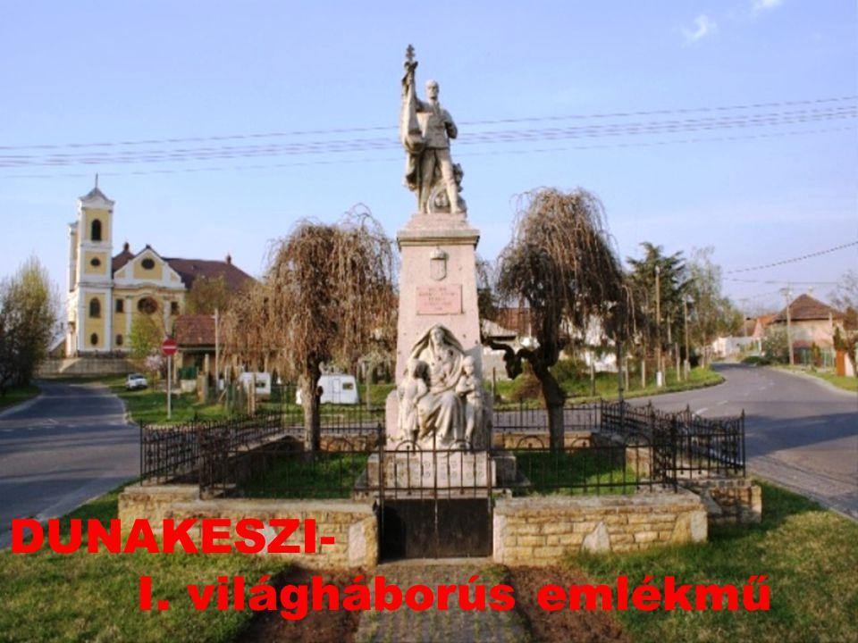 DUNAKESZI- I. világháborús emlékmű