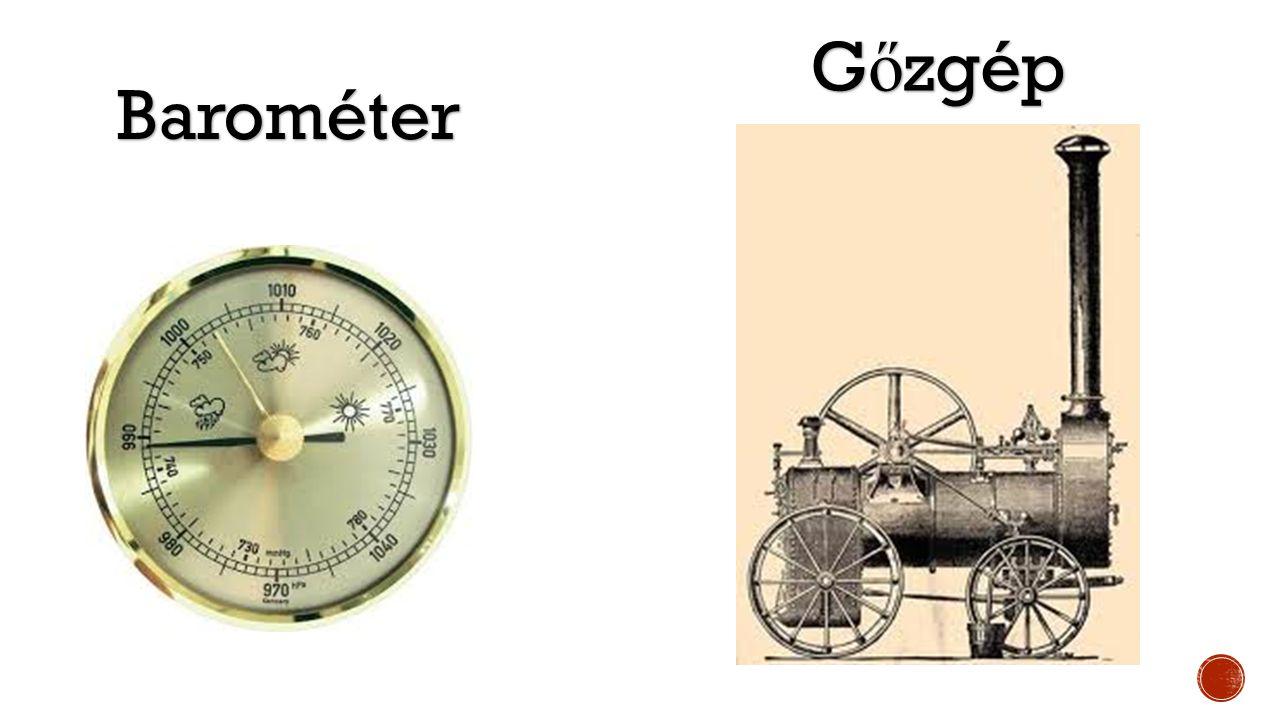 Gőzgép Barométer