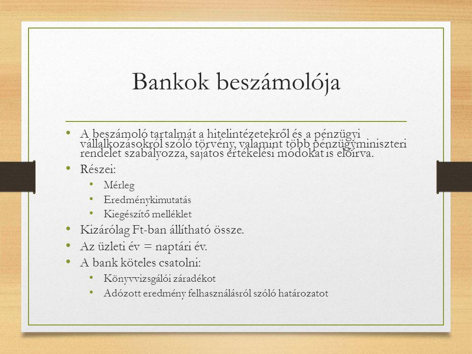 Bankok beszámolója