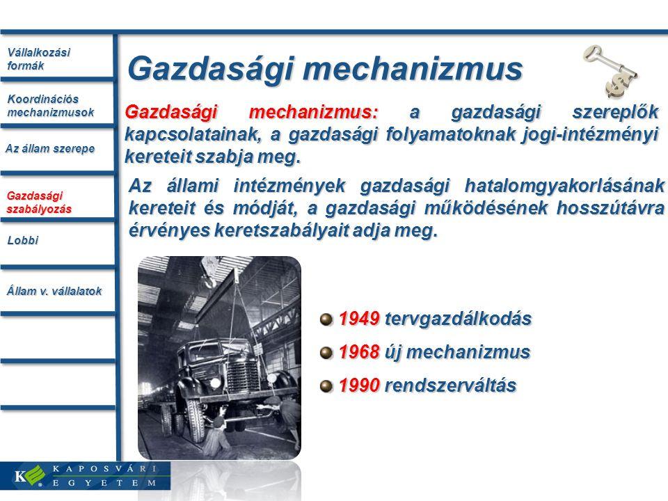 Gazdasági mechanizmus