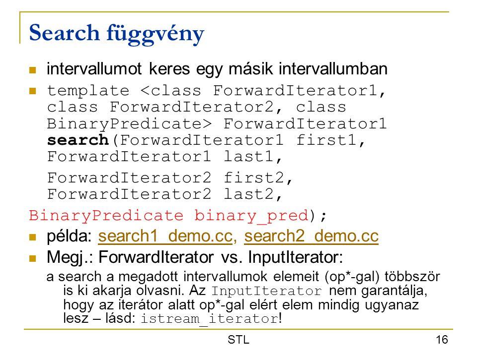 Search függvény intervallumot keres egy másik intervallumban