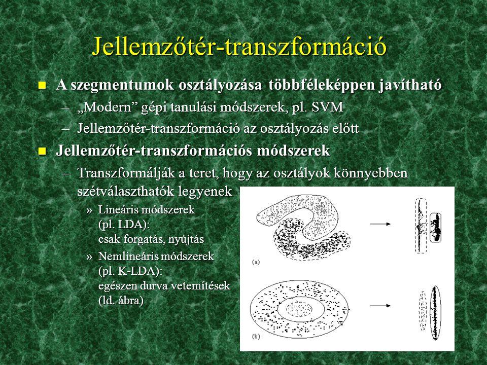 Jellemzőtér-transzformáció