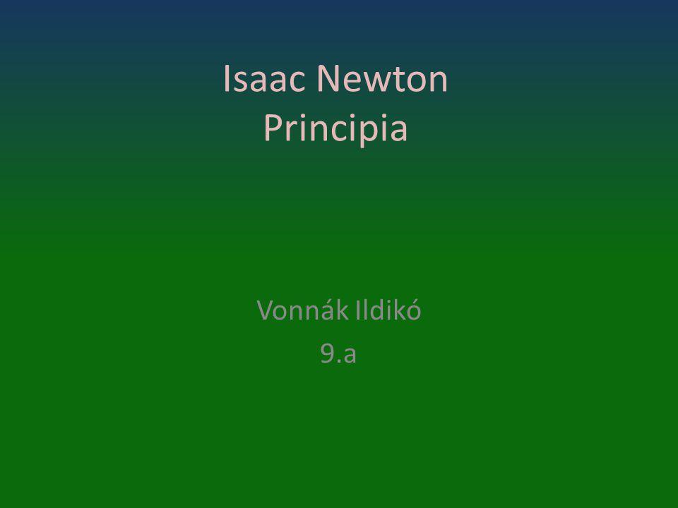 Isaac Newton Principia