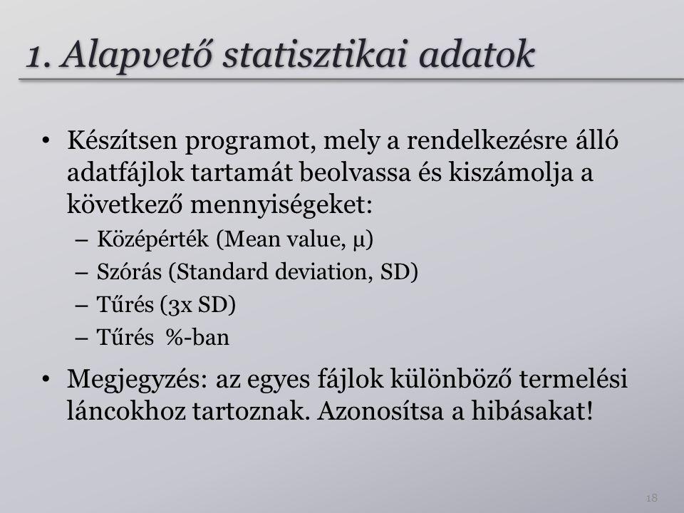 1. Alapvető statisztikai adatok