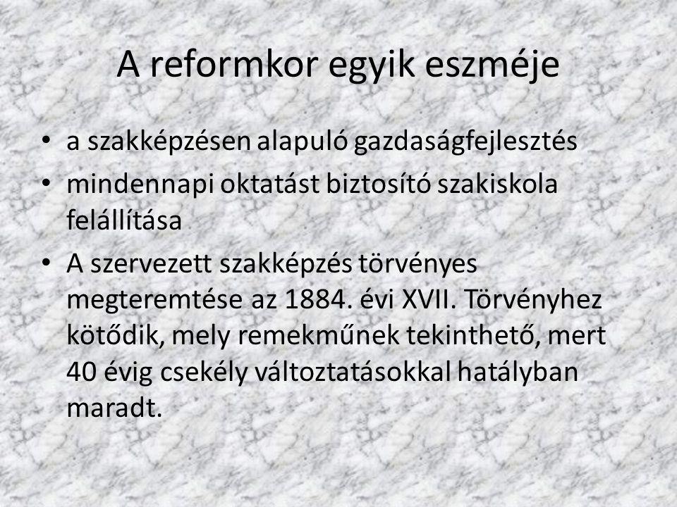 A reformkor egyik eszméje