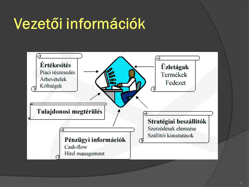 Vezetői információk FSzL