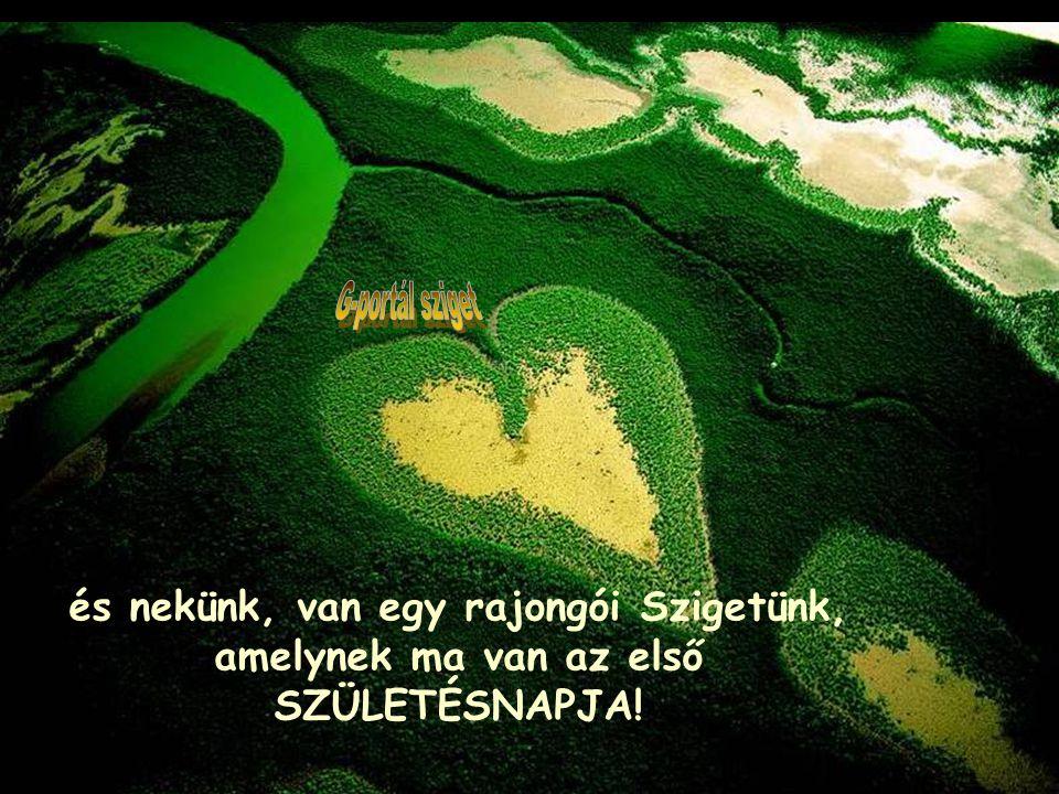 G-portál sziget és nekünk, van egy rajongói Szigetünk, amelynek ma van az első SZÜLETÉSNAPJA!