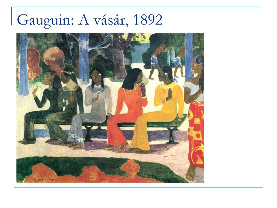 Gauguin: A vásár, 1892