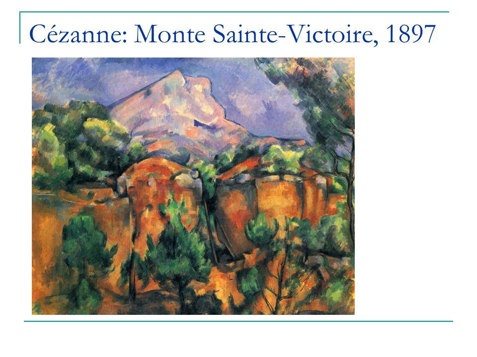 Cézanne: Monte Sainte-Victoire, 1897