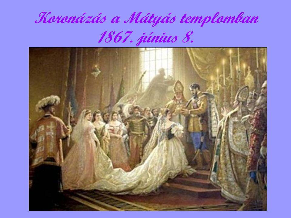 Koronázás a Mátyás templomban 1867. június 8.