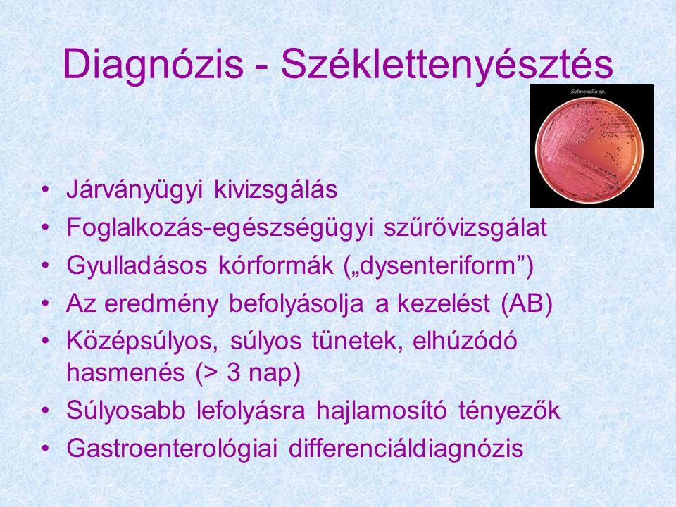 Diagnózis - Széklettenyésztés