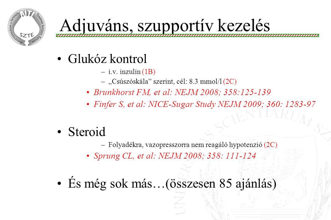 Adjuváns, szupportív kezelés