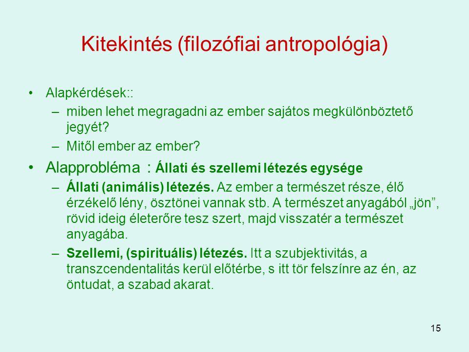 Kitekintés (filozófiai antropológia)