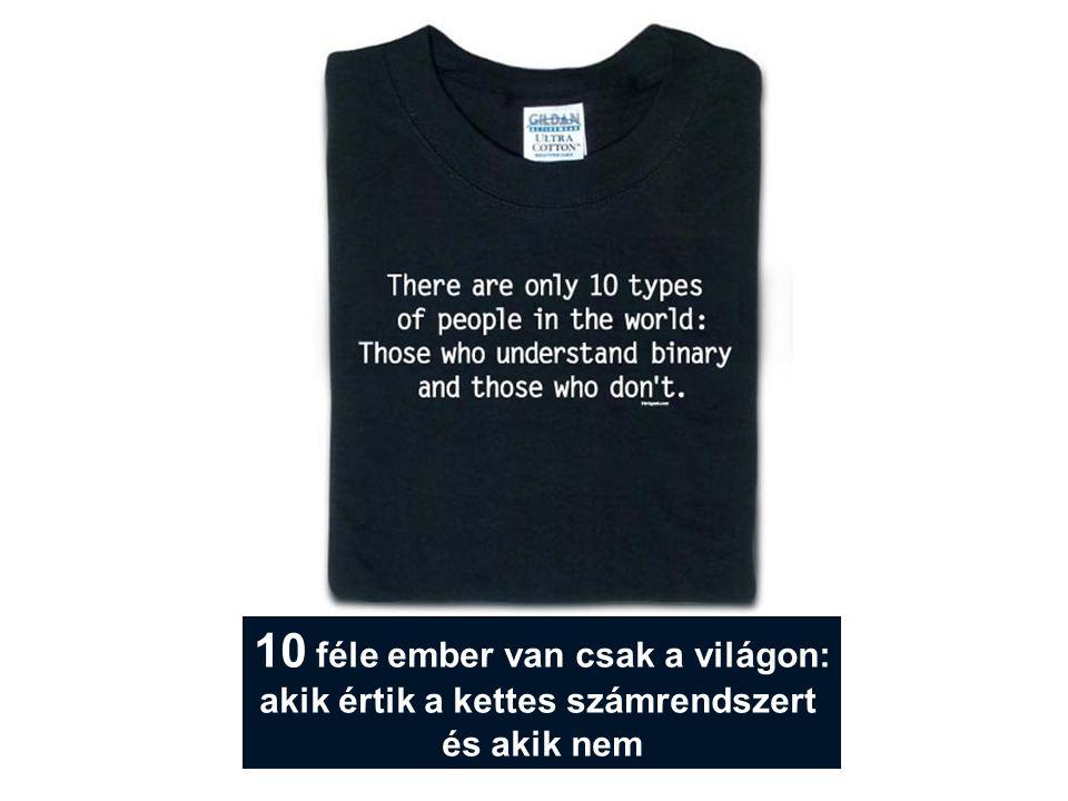 10 féle ember van csak a világon: