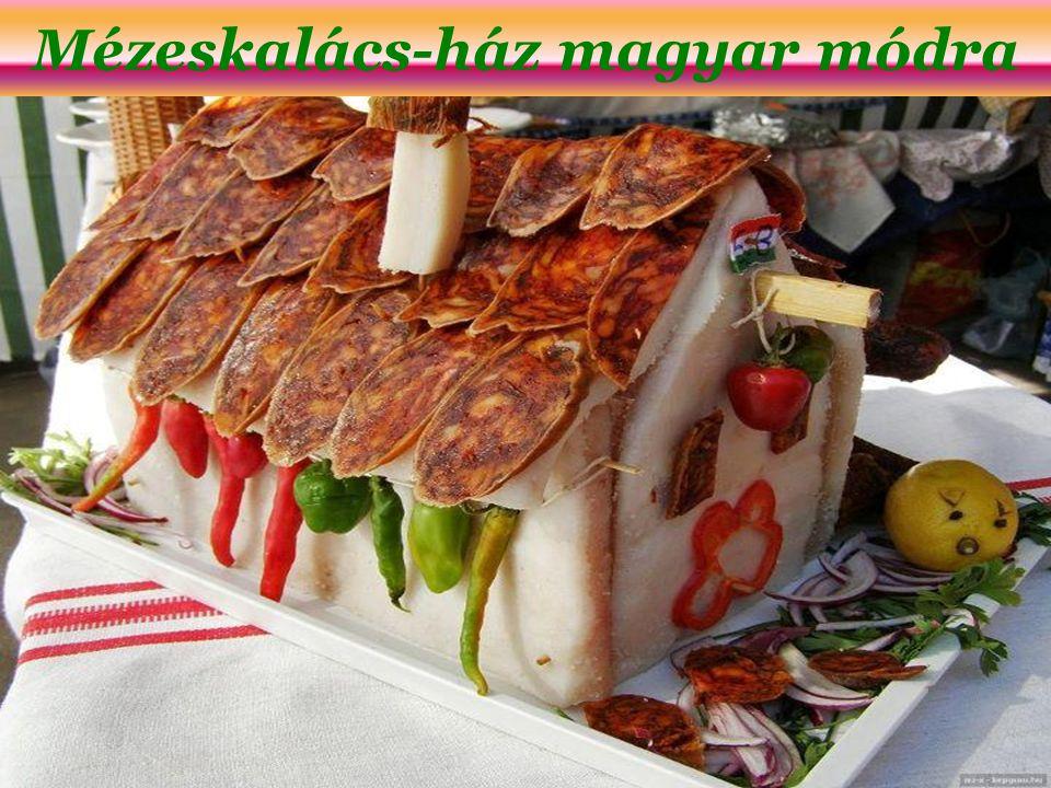 Mézeskalács-ház magyar módra