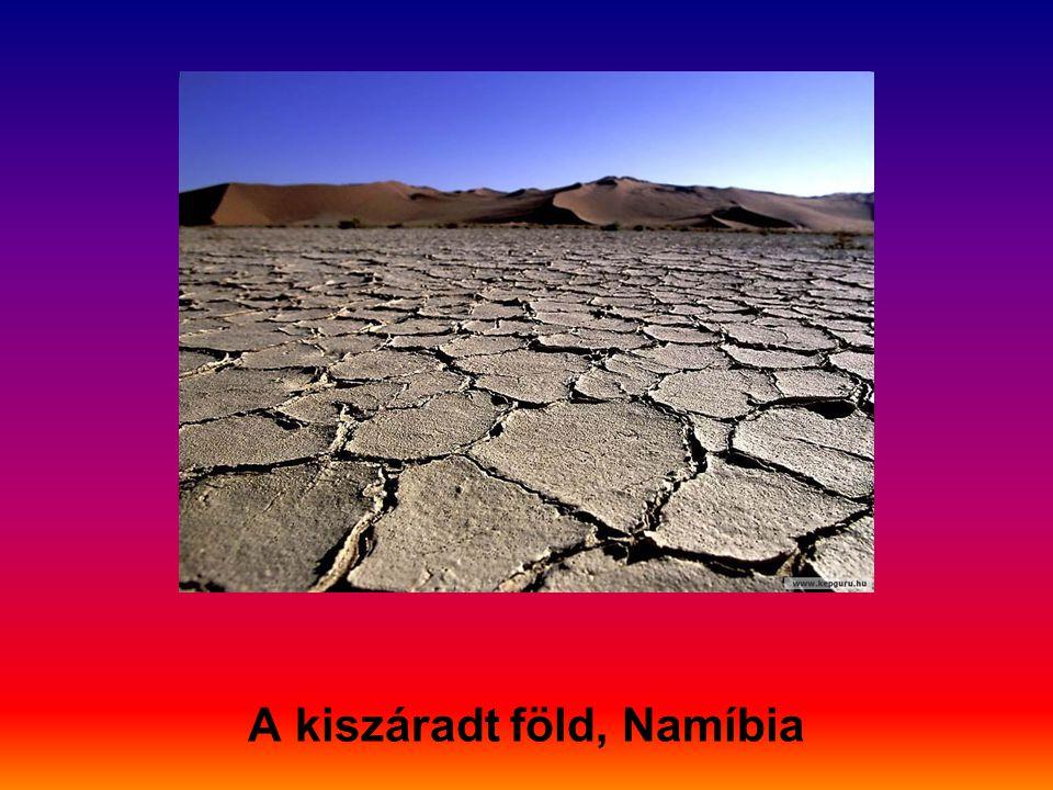 A kiszáradt föld, Namíbia