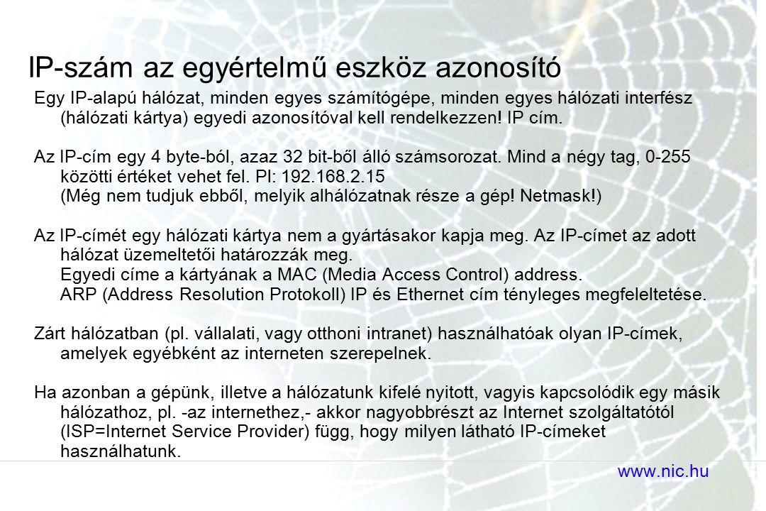 IP-szám az egyértelmű eszköz azonosító