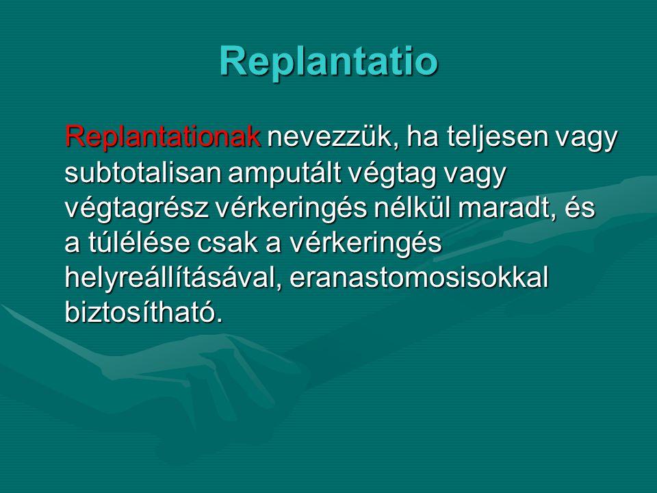 Replantatio