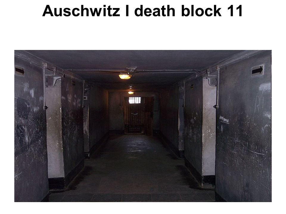 Auschwitz I death block 11