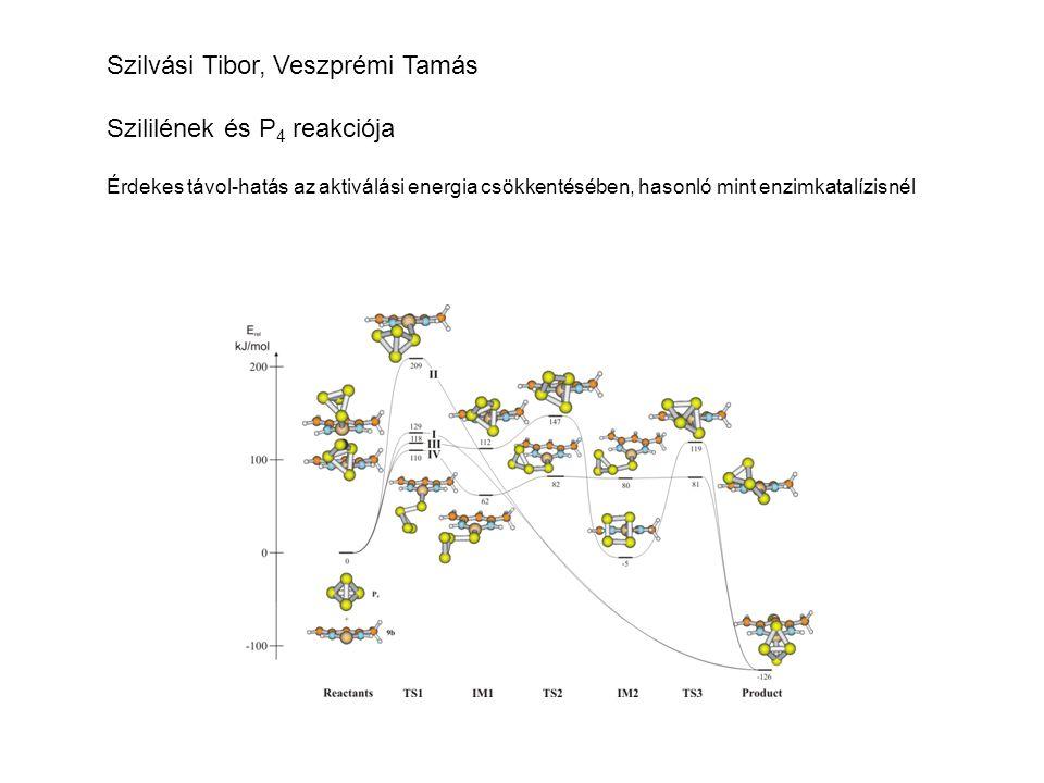 Szilvási Tibor, Veszprémi Tamás Szililének és P4 reakciója