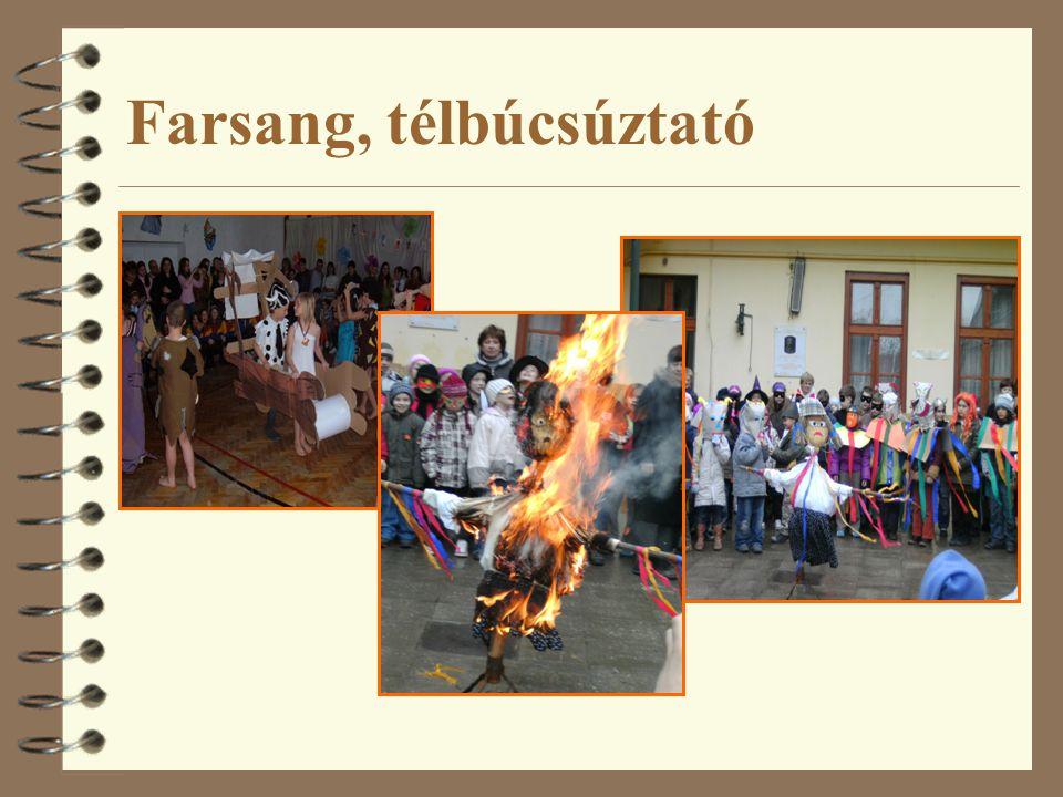Farsang, télbúcsúztató