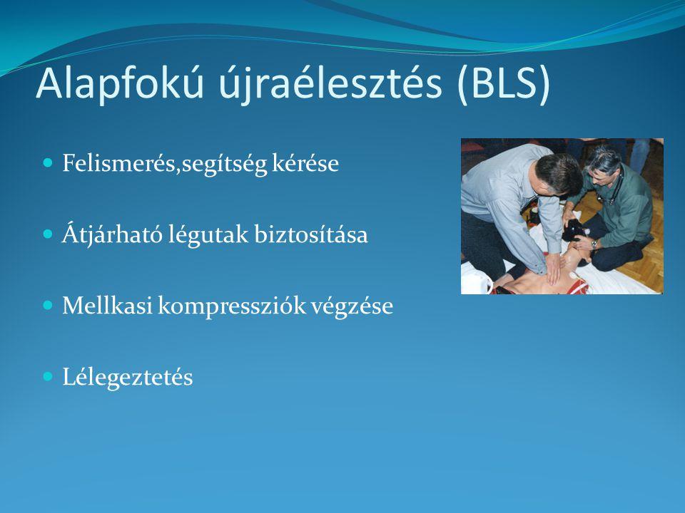 Alapfokú újraélesztés (BLS)