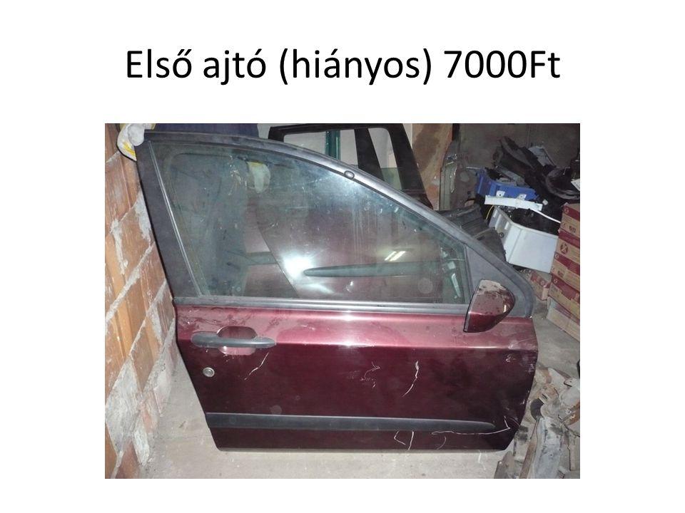 Első ajtó (hiányos) 7000Ft