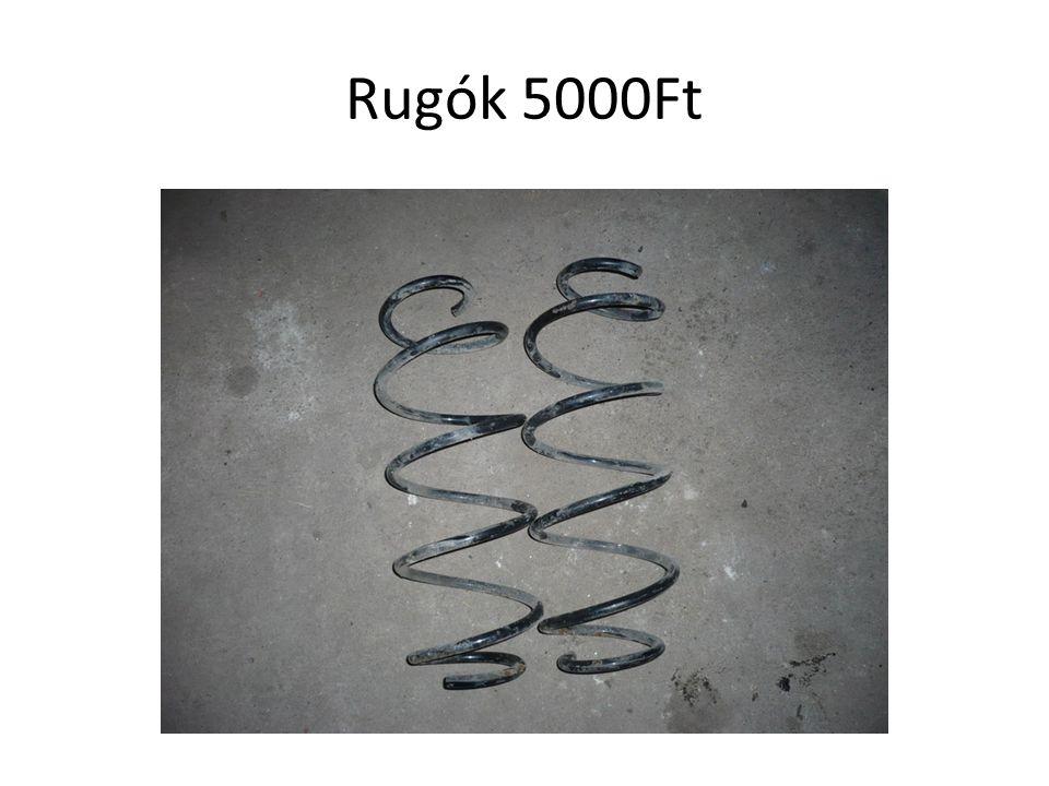 Rugók 5000Ft