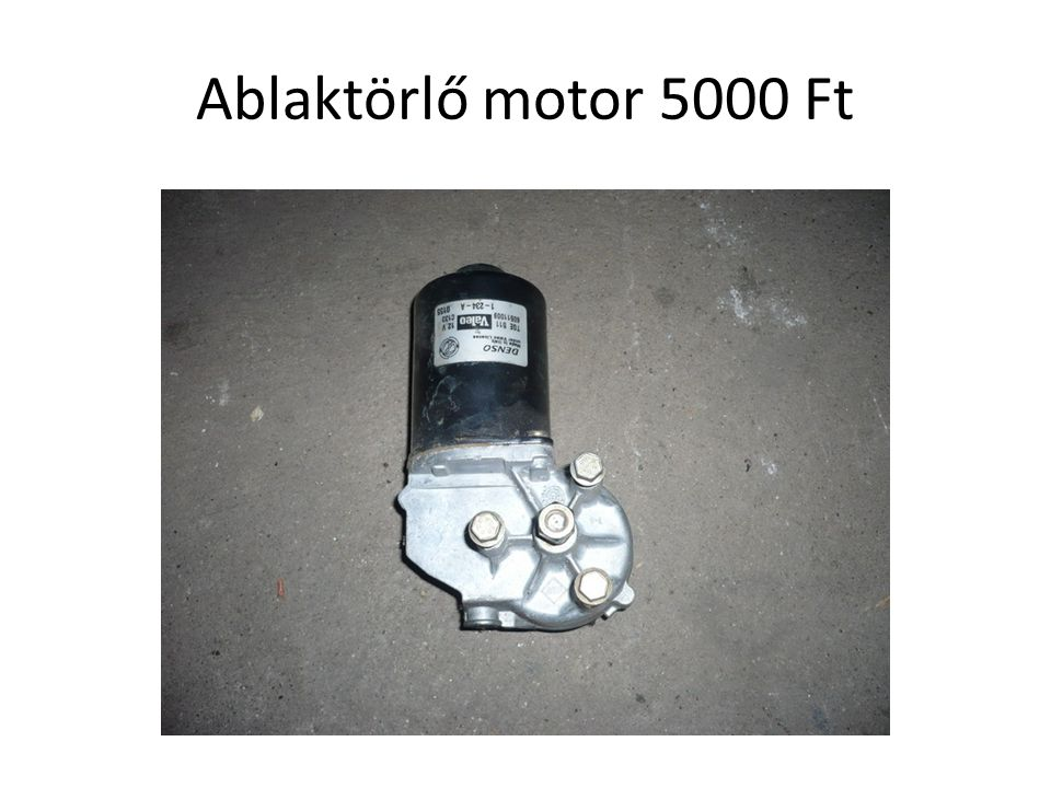 Ablaktörlő motor 5000 Ft