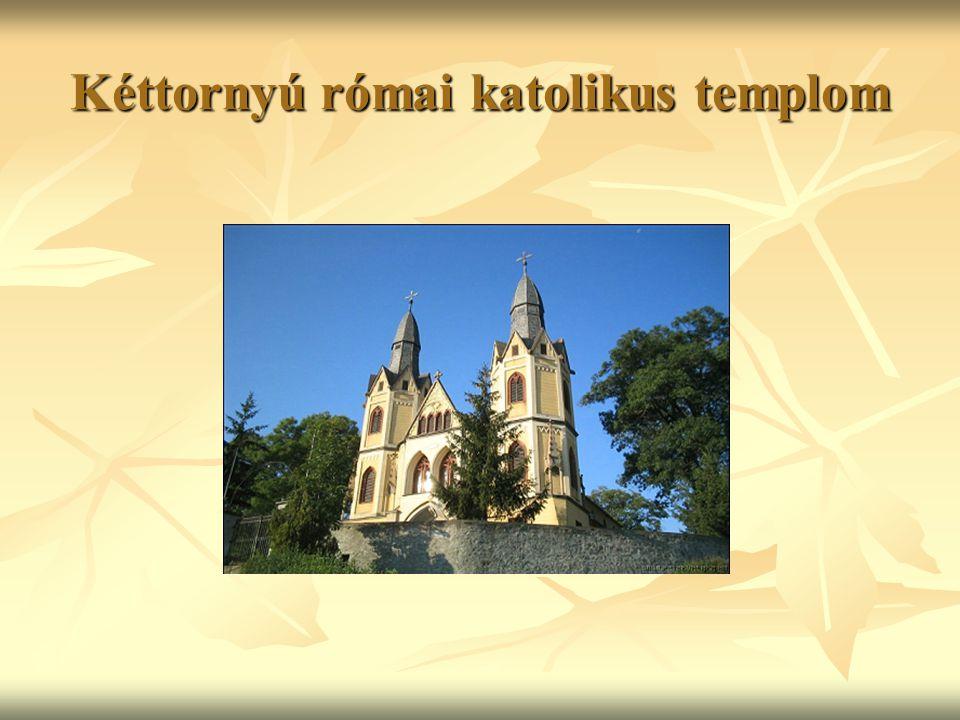 Kéttornyú római katolikus templom