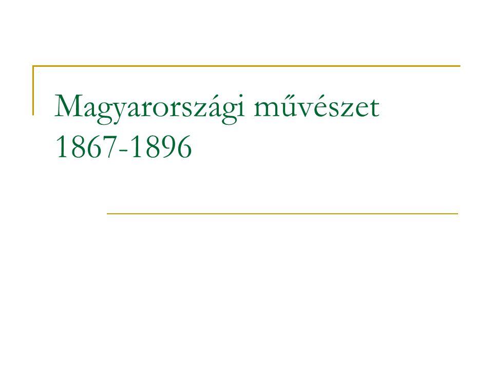 Magyarországi művészet 1867-1896