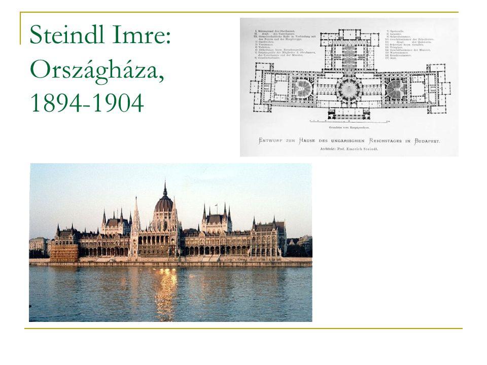 Steindl Imre: Országháza, 1894-1904