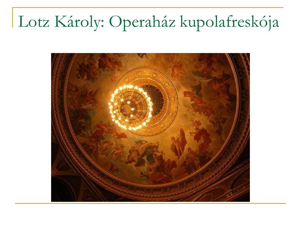 Lotz Károly: Operaház kupolafreskója