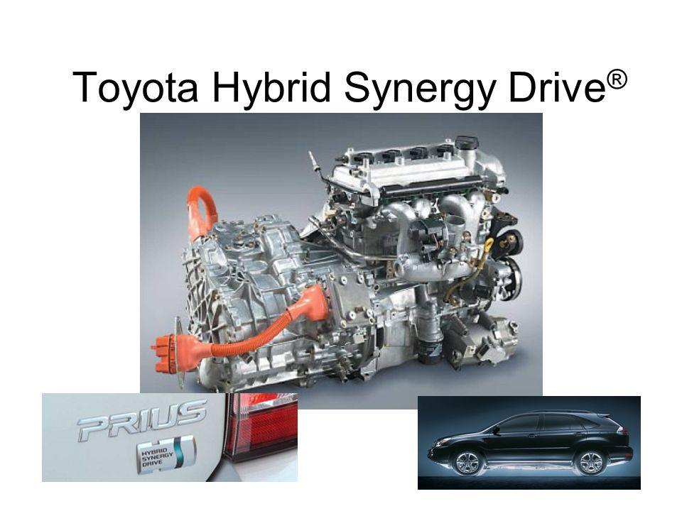 Toyota Hybrid Synergy Drive®