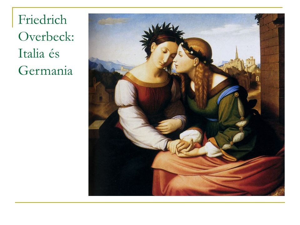 Friedrich Overbeck: Italia és Germania