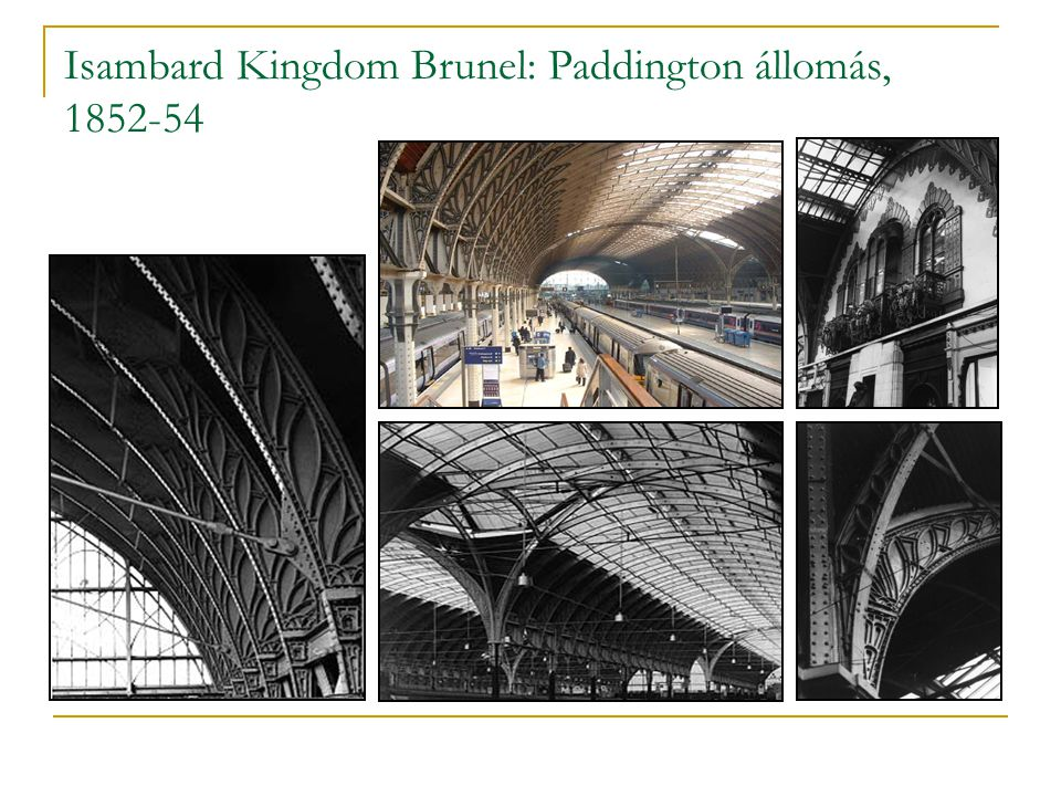 Isambard Kingdom Brunel: Paddington állomás, 1852-54