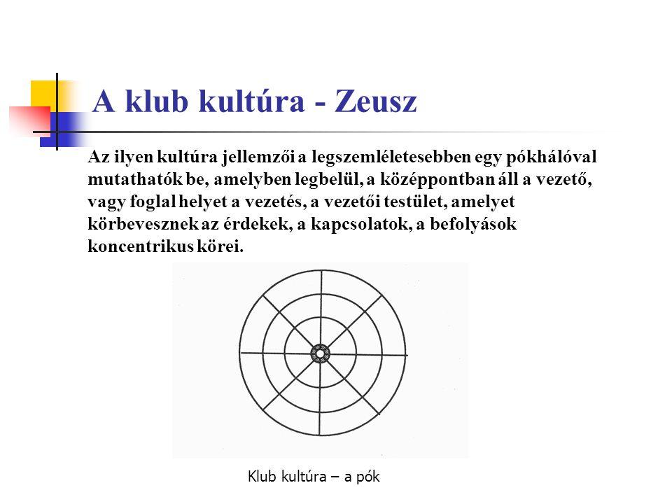 A klub kultúra - Zeusz