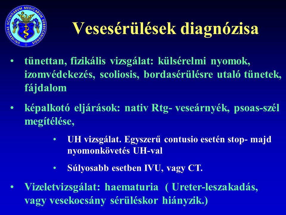 Vesesérülések diagnózisa