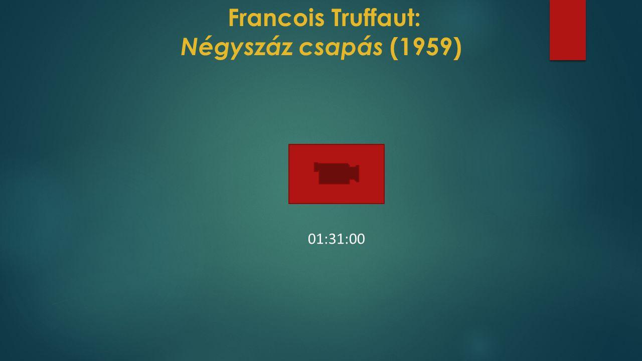 Francois Truffaut: Négyszáz csapás (1959)