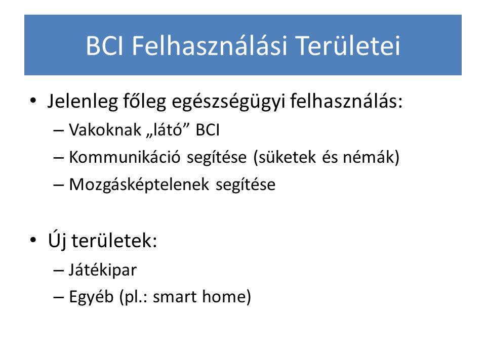 BCI Felhasználási Területei