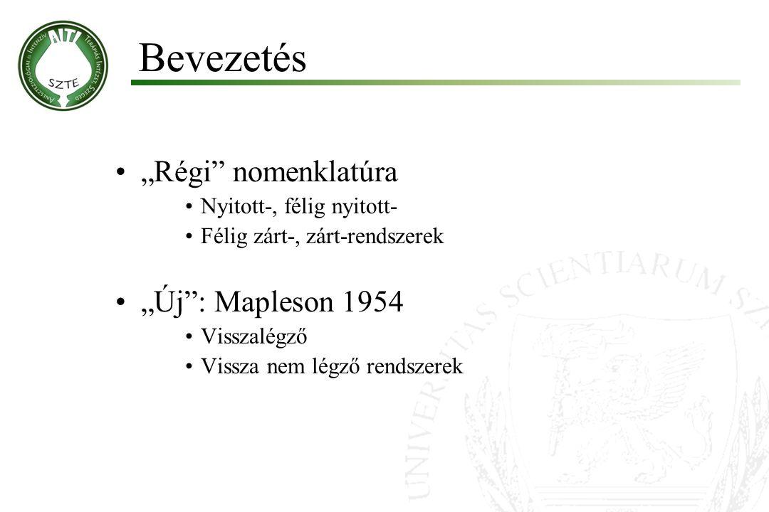 """Bevezetés """"Régi nomenklatúra """"Új : Mapleson 1954"""
