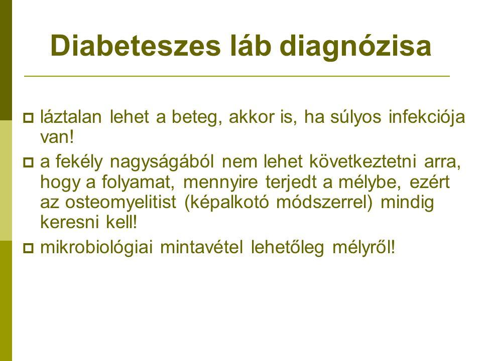 Diabeteszes láb diagnózisa