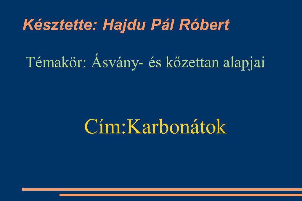 Késztette: Hajdu Pál Róbert