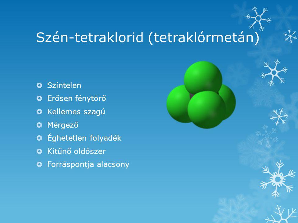 Szén-tetraklorid (tetraklórmetán)