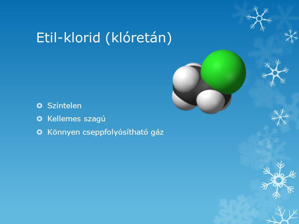 Etil-klorid (klóretán)