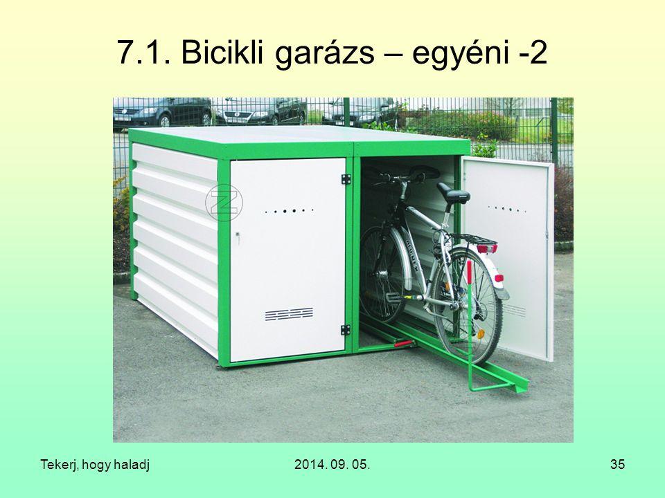 7.1. Bicikli garázs – egyéni -2