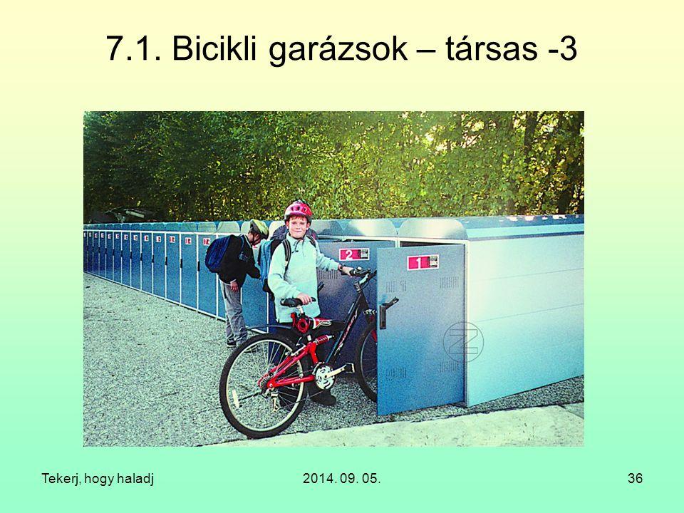 7.1. Bicikli garázsok – társas -3