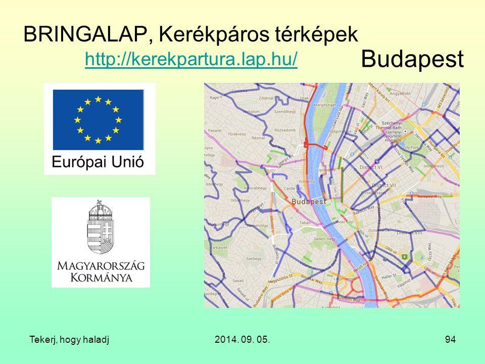 BRINGALAP, Kerékpáros térképek http://kerekpartura.lap.hu/