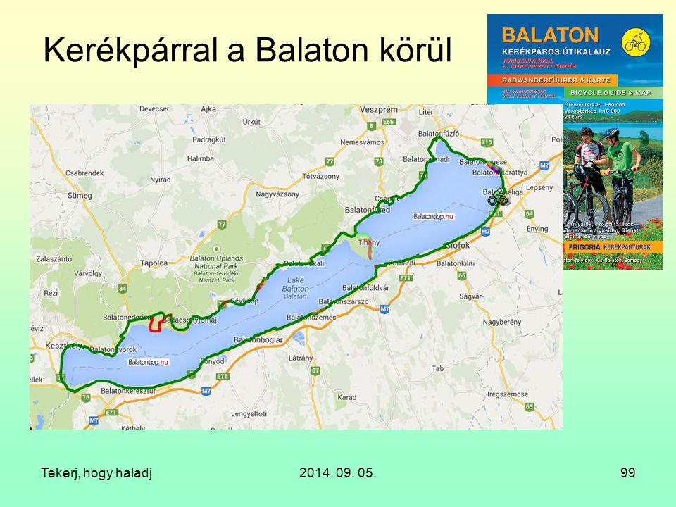 Kerékpárral a Balaton körül